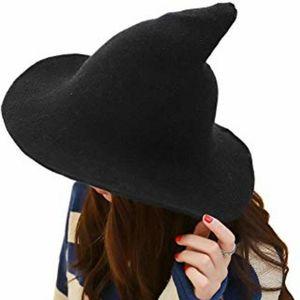 Modern & Cute Knit Witch Hat